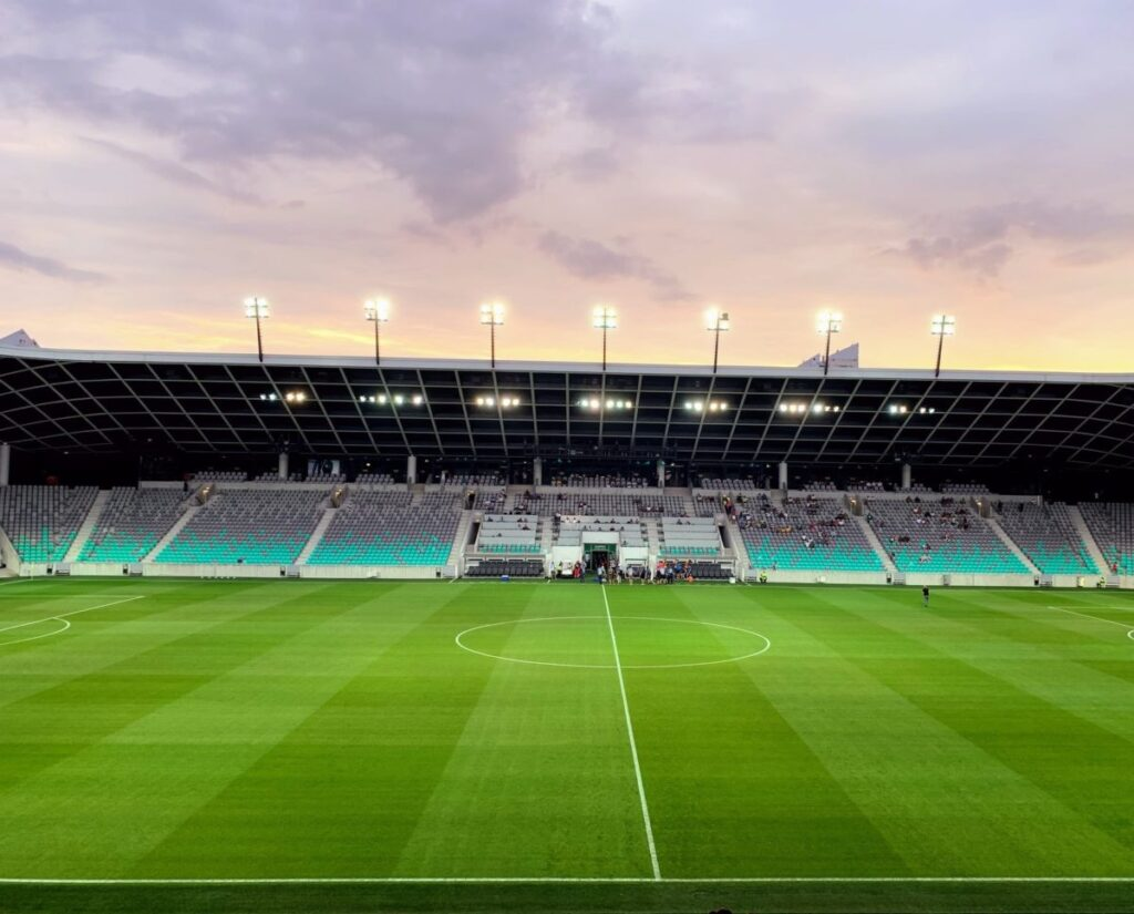 In a first across Europe, the Hungarian Football Federation (MLSZ) have allowed fans to return under strict guidelines to preserve social distancing around the grounds.