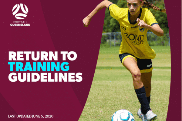 Football Queensland has released an updated version of its Return to Play guidelines following the Queensland Government's easing of restrictions.