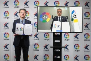 La Liga and the K League have signed a memorandum of understanding that will see the organisations work together until the end of 2023.