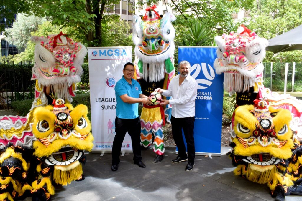 Football Victoria (FV) has announced a formal partnership with the Melbourne Chinese Soccer Association (MCSA).