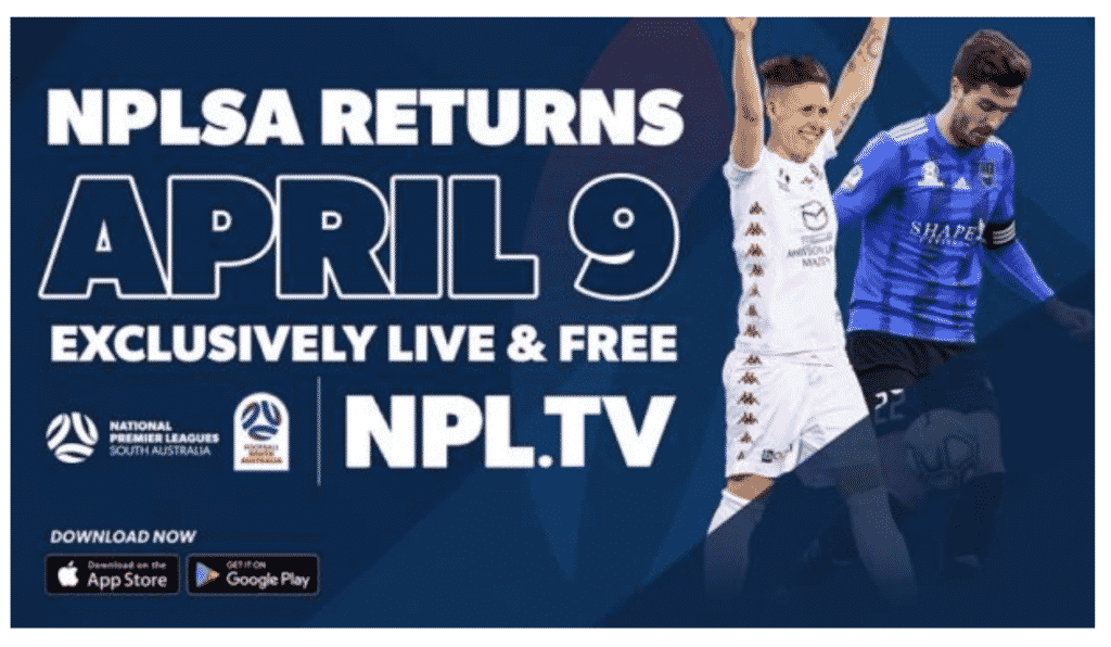 Football South Australia have joined up with NPL.TV to cover all 366 games of the NPL and WNPL for the season ahead.