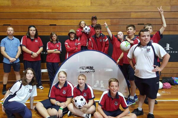 Students aged 5-18 with a sensory, physical or intellectual disability can participate in Sport NSW's Activate Inclusion Sports Day.