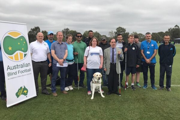 Albert Park's Synthetic Football Field will play host for Australian Blind Football's ABF4ALL Coaching Certificate session.