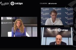In a boost to the brands of both organisations, La Liga and the Rafa Nadal Academy by Movistar have struck a three-year agreement.