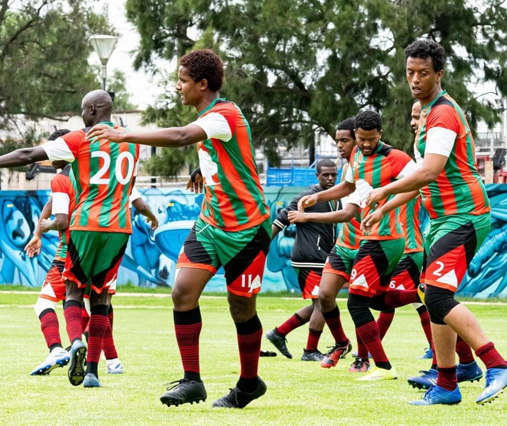 Passionate football fans gathered in Melbourne earlier this year for the Oromo Sports Federation Australia's (OSFA) Oromo Soccer Tournament.