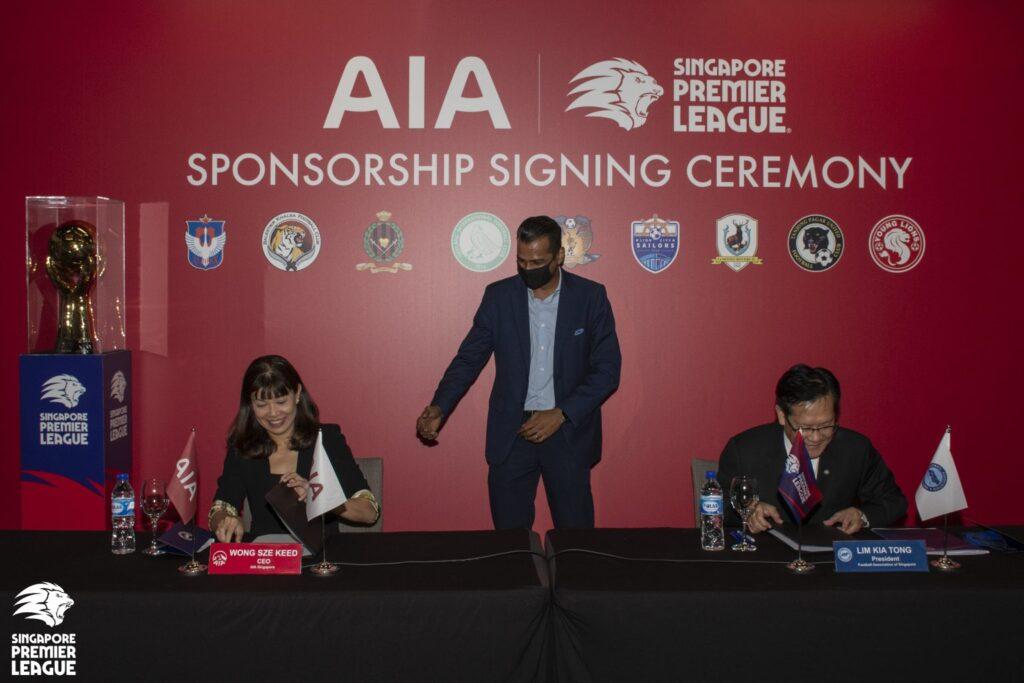 Singapore Premier League extends title sponsorship with Tottenham sponsor