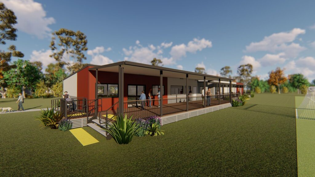 Ausco Modular will start production on a brand new custom designed clubhouse for Virginia United Football Club.