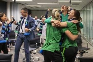 World Cup bid win