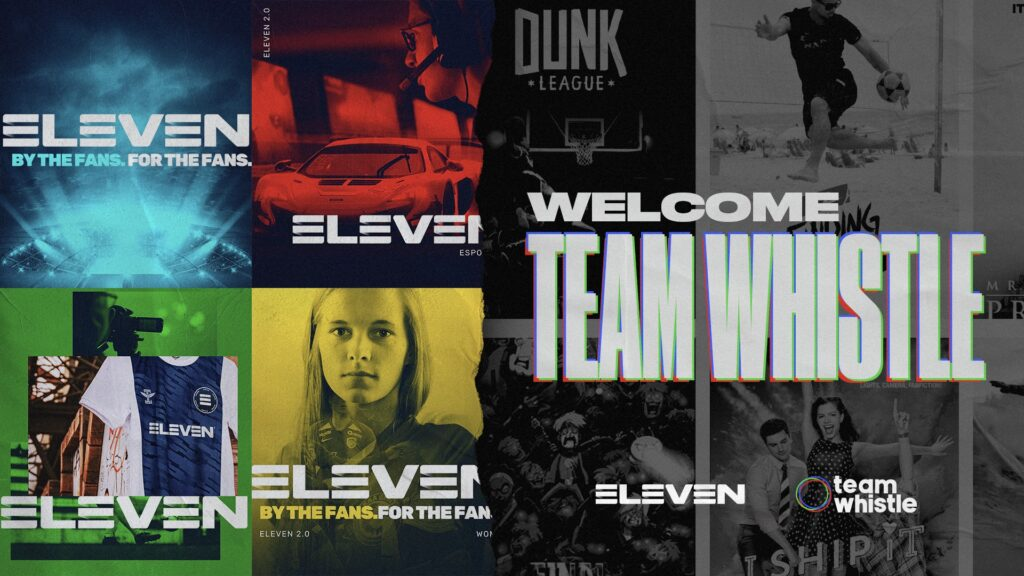 Team Whistle joins ELEVEN Group
