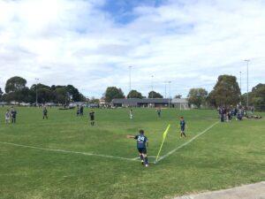 Football at Hosken Reserve