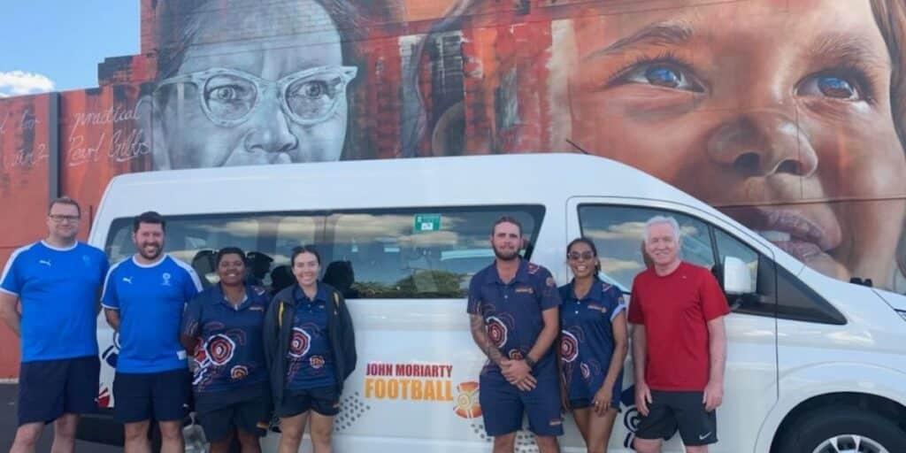 Football NSW & John Moriarty