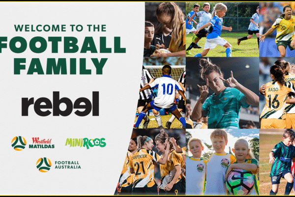 Football Australia has announced a multi-year expanded partnership with rebel - Australia's largest sports retailer.