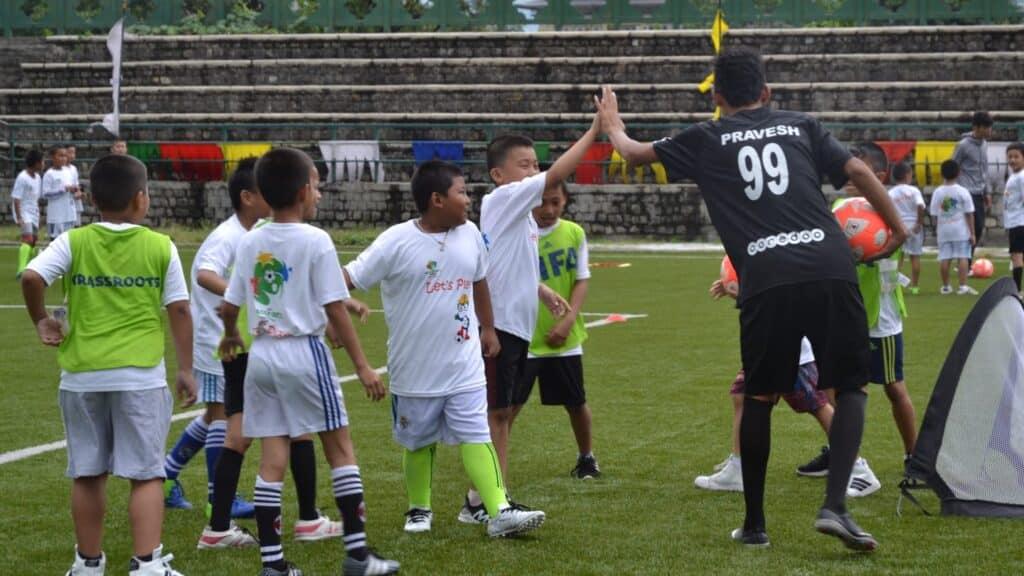 Grassroots football