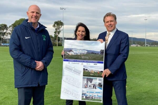 Kingborough Lions United Football Club (KLUFC) has confirmed details of a new $6 million changeroom and clubrooms complex at Lightwood Park.
