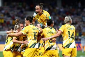 Matildas players