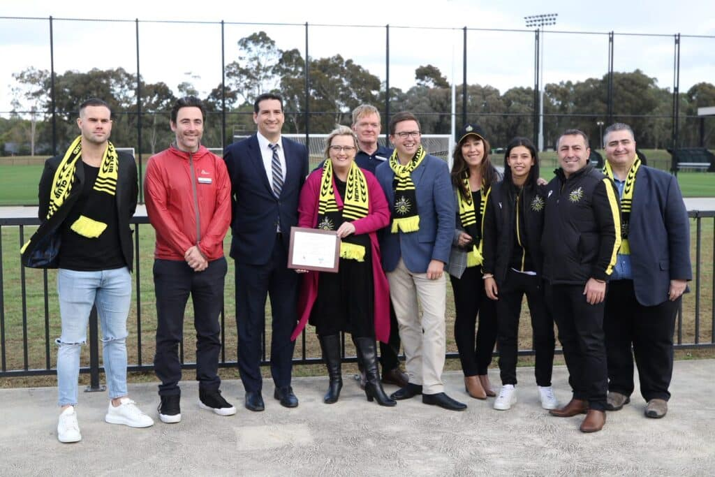 The State Labor Government is contributing $4.5 million to stages 3 and 4 of redevelopment at Olympic Park, alongside $3 million from Banyule City Council.