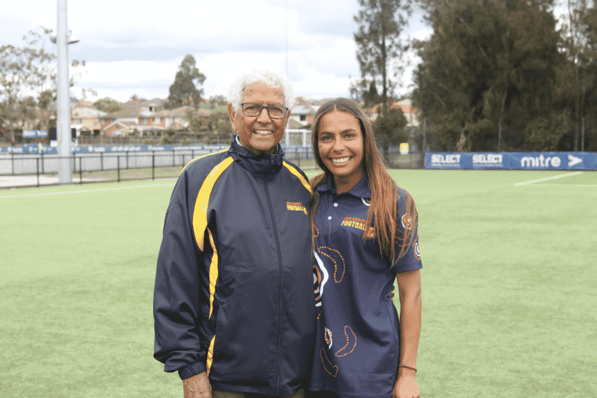 In National Reconciliation Week 2021, Football Coaches Australia is pleased to present FCA XVenture Essential Skills program scholarships to Tiffany Stanley and Bryce Deaton, who both coach for John Moriarty Football.
