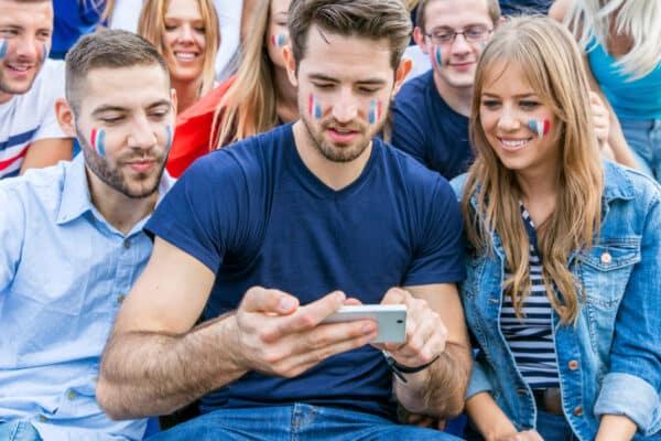 Social media enhancing football