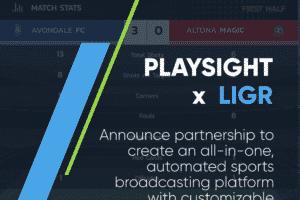 PlaySight LIGR partnership