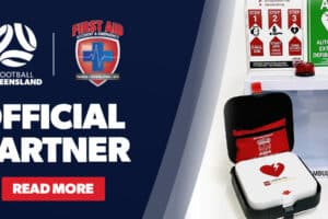 Football Queensland has announced First Aid Accident & Emergency as its Official First Aid Partner, giving the community access to resources.