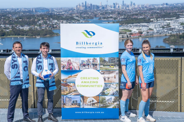 Sydney FC have agreed a one-year A-League Women's and Sydney FC Academy partnership with family-owned Australian property group, Billbergia.