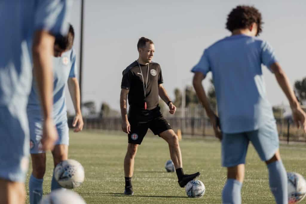 Anthony Frost is a Qualified A/B/C License Instructor with expertise in player development, and is the Head Coach of the Melbourne City FC Academy.